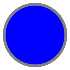 A small SVG circle