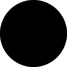 An SVG circle