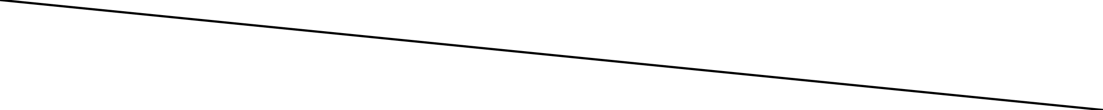 An SVG line