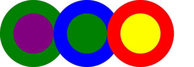 Opaque circles