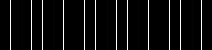 Twenty bars