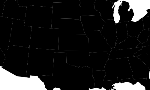 The same GeoJSON data, but now with a centered projection