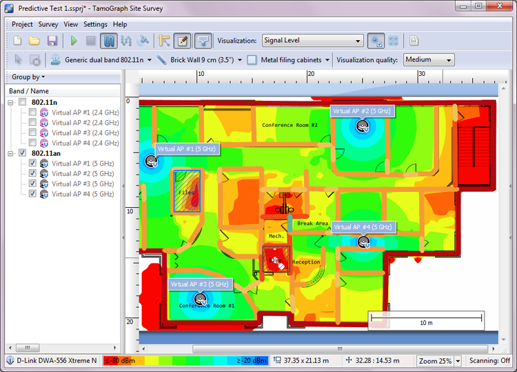 Wireless capacity planning with TamoGraph