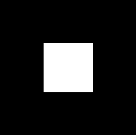 A Square Drawn with WebGL