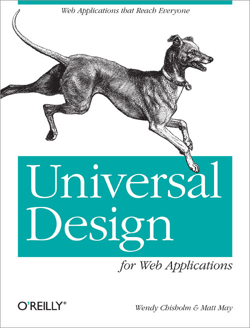 Universal Design for Web Applications Cover