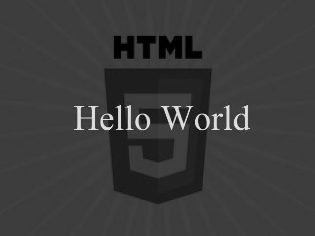 HTML5 Canvas Animated Hello World
