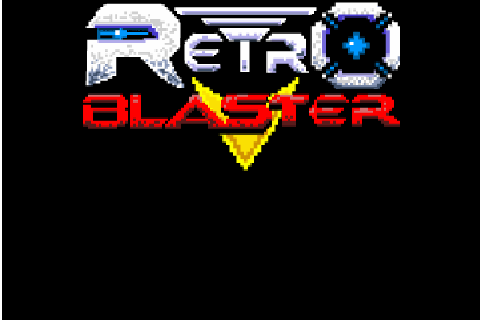 Retro Blaster title screen