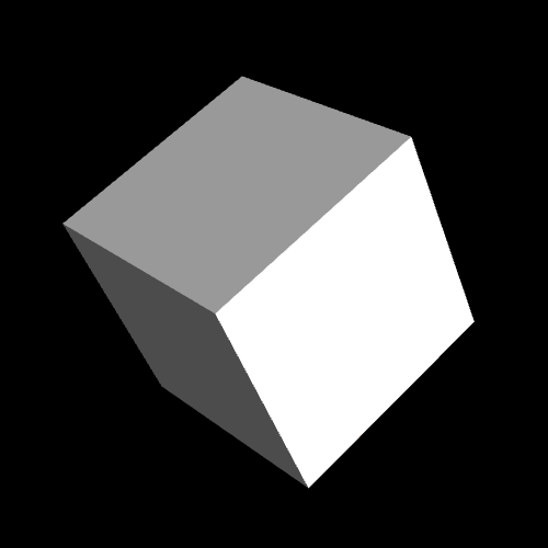 3D rotating cube (CH11EX1.html)