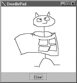 The DoodlePad application