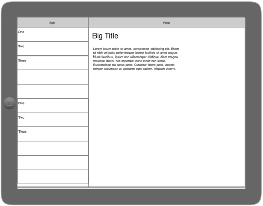 an imockups wireframe i created in less than a minute on my ipad - Wireframe Ipad
