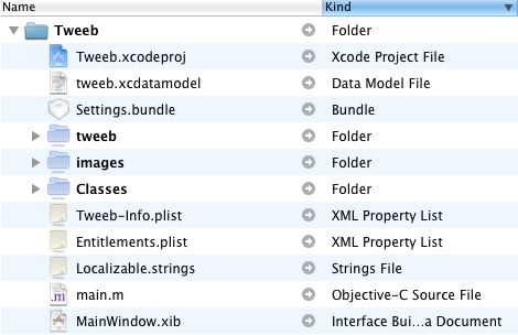 Xcode Project File