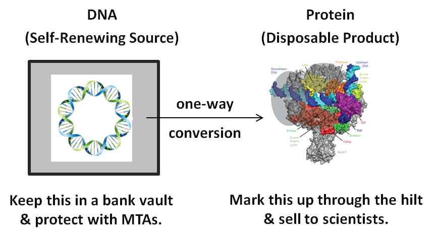 Capitalizing on the Central Dogma