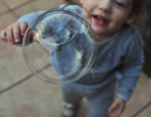 Pricking the bubble