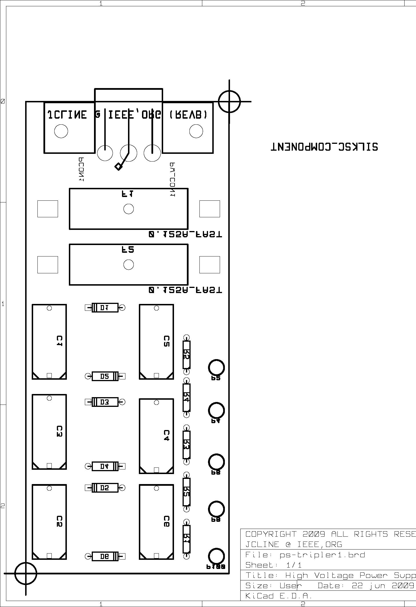 Circuit Board Silkscreen Pattern